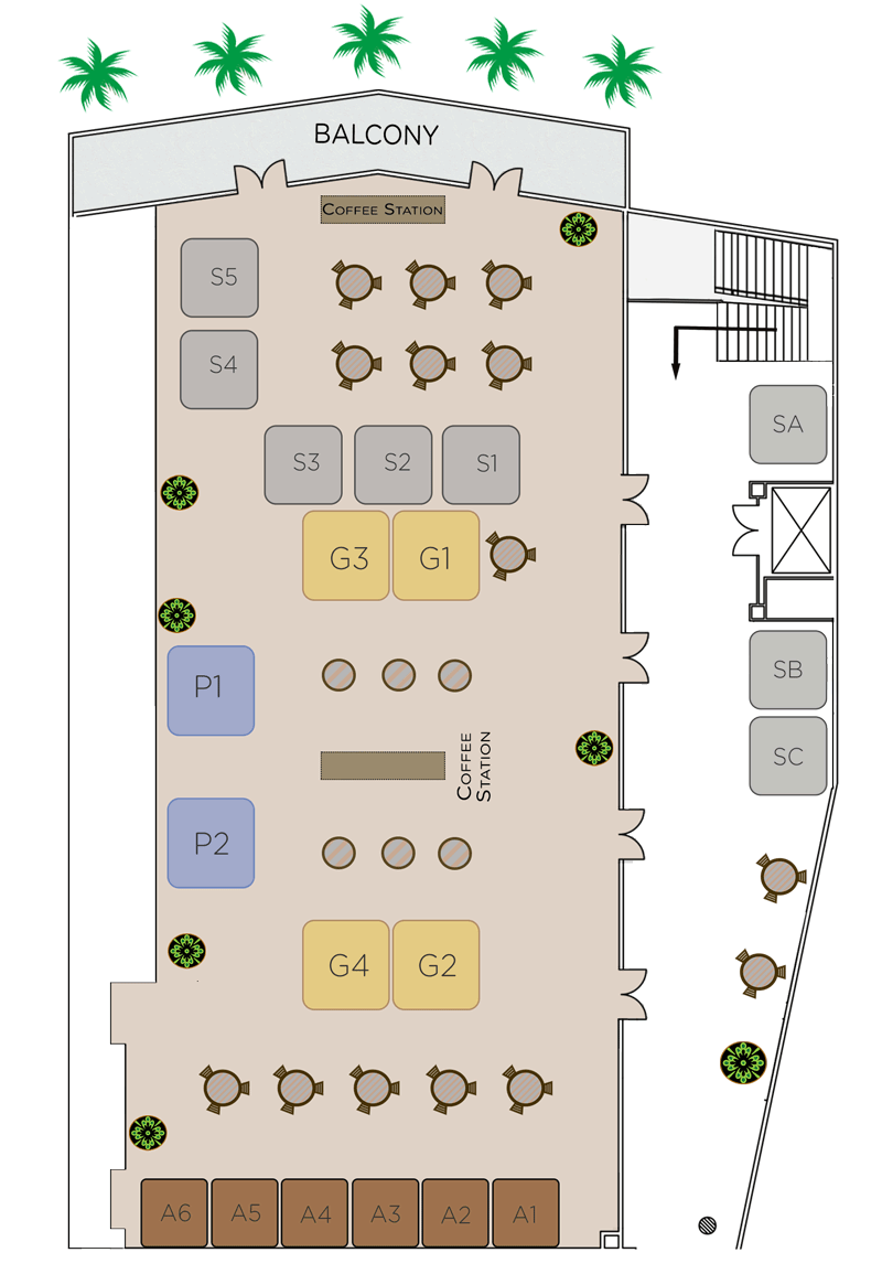 IMTC WORLD 2016-Trade Fair Layout